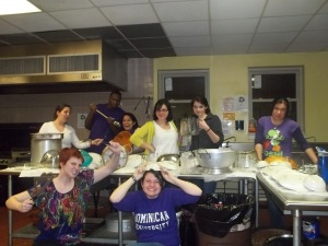 Kitchen Craziness in Atlanta, 2012