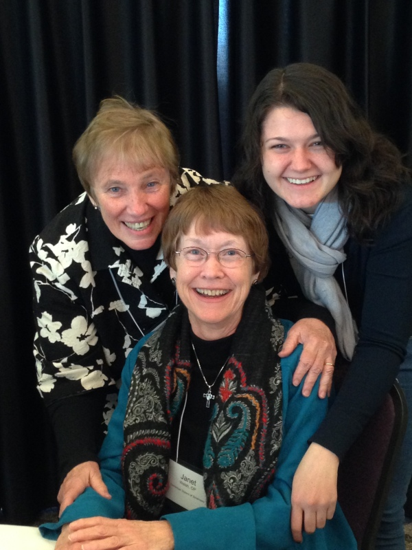 Srs. Jeri Cashman and Janet Welsh and myself
